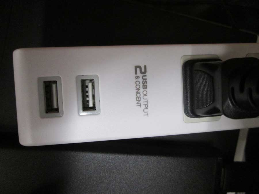 USB付延長コード