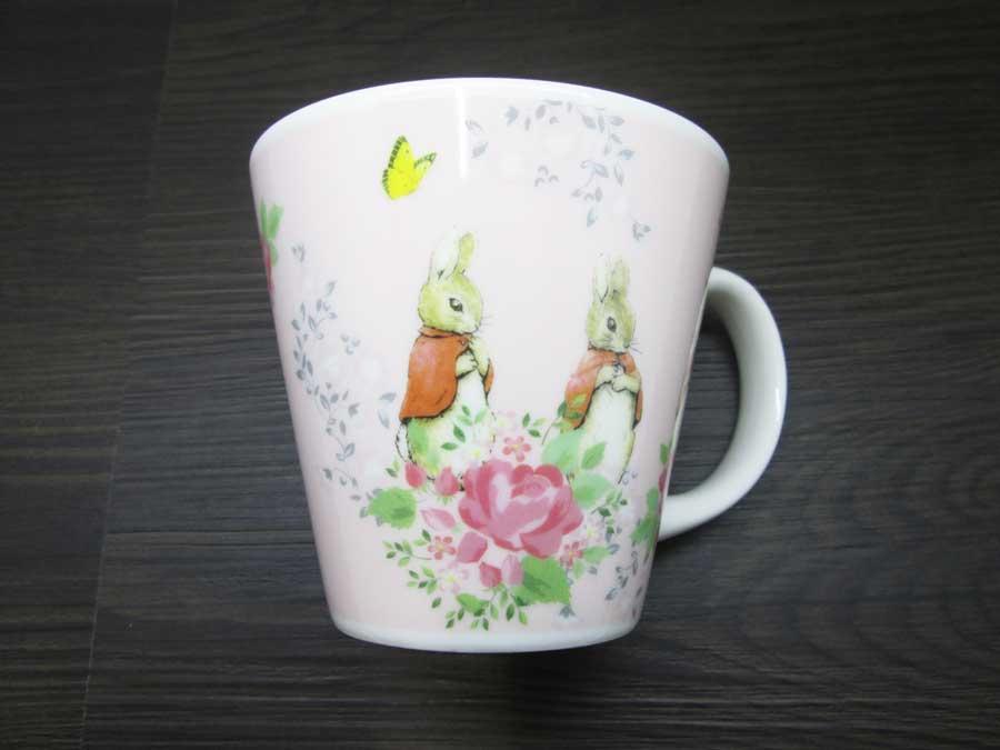 パスタカレー皿(ピーターラビット) マグカップ