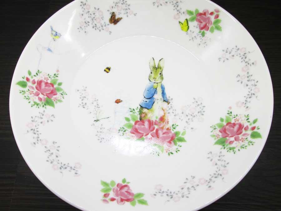 パスタカレー皿(ピーターラビット)