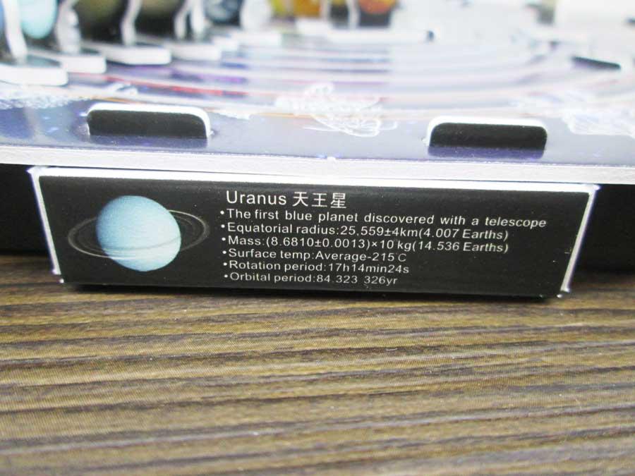 ネームプレート Uranus(天王星)