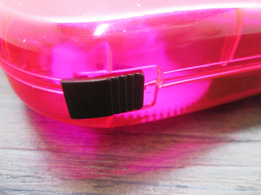 手動発電2LEDライト ロックスイッチ