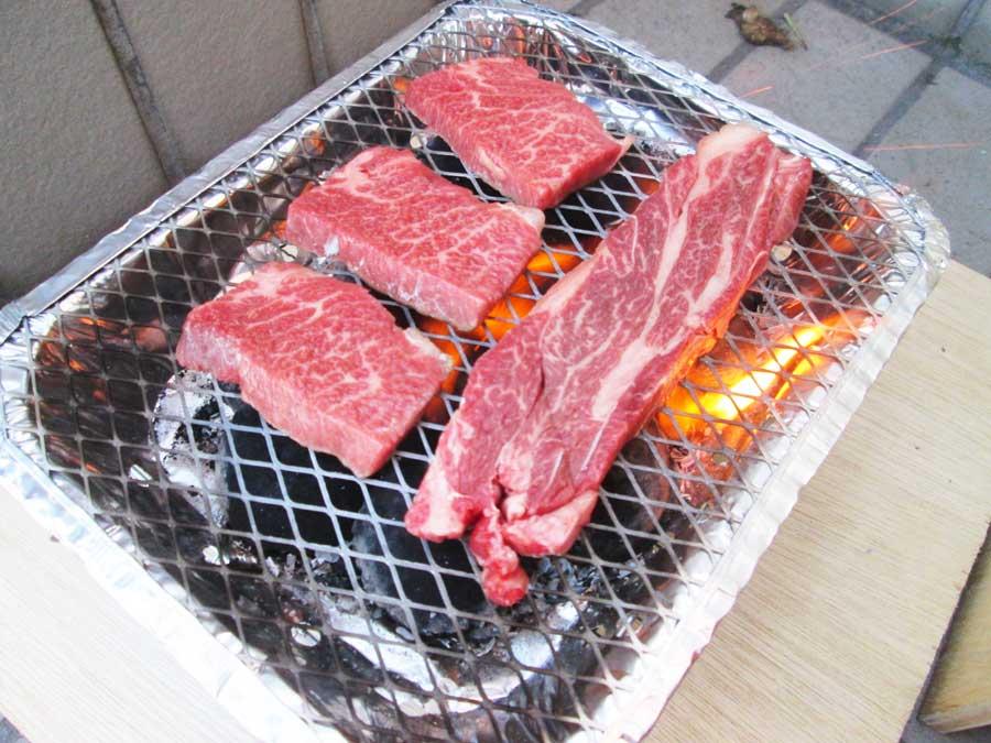 インスタントコンロ 牛肉