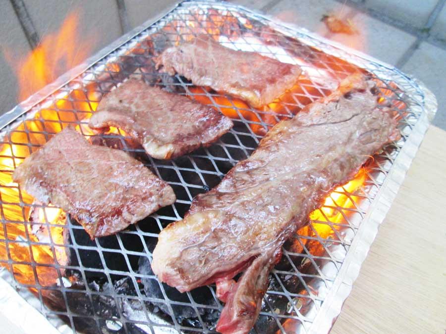 インスタントコンロ 牛肉2
