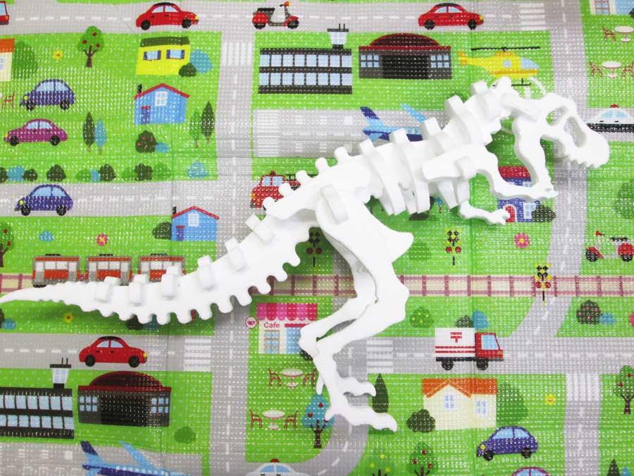 発泡スチロール 恐竜工作キット
