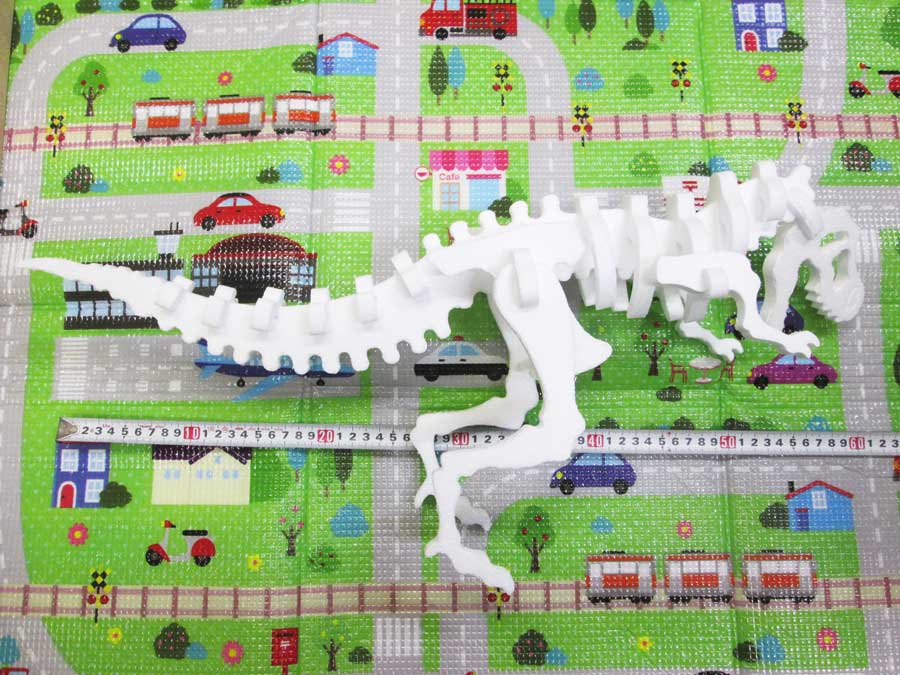 恐竜工作キット 全長