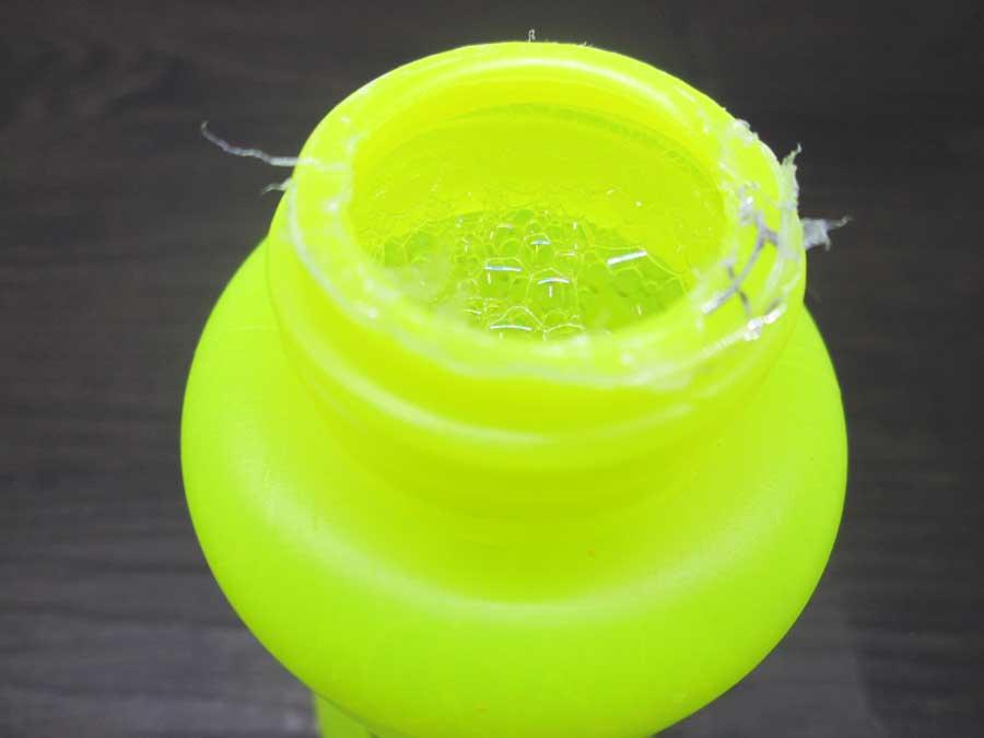 バブルインバブル シャボン液 中蓋 開封