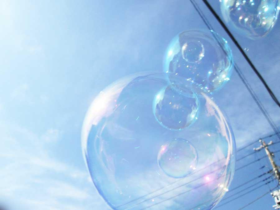 バブルインバブル シャボン玉1
