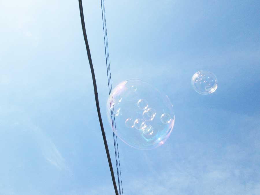 バブルインバブル シャボン玉2