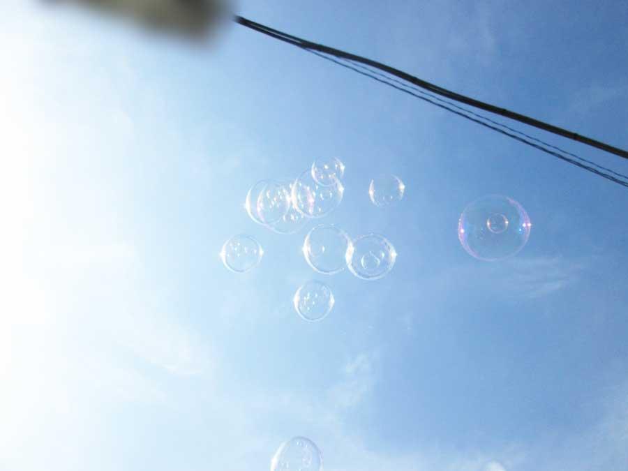 バブルインバブル シャボン玉4