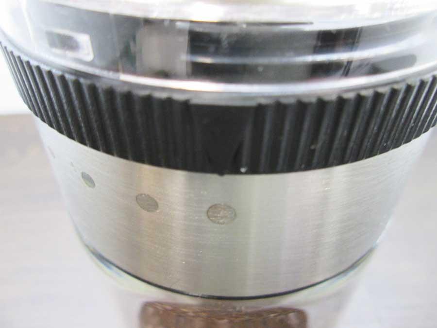 コーヒーミル ダイヤル 粗挽き