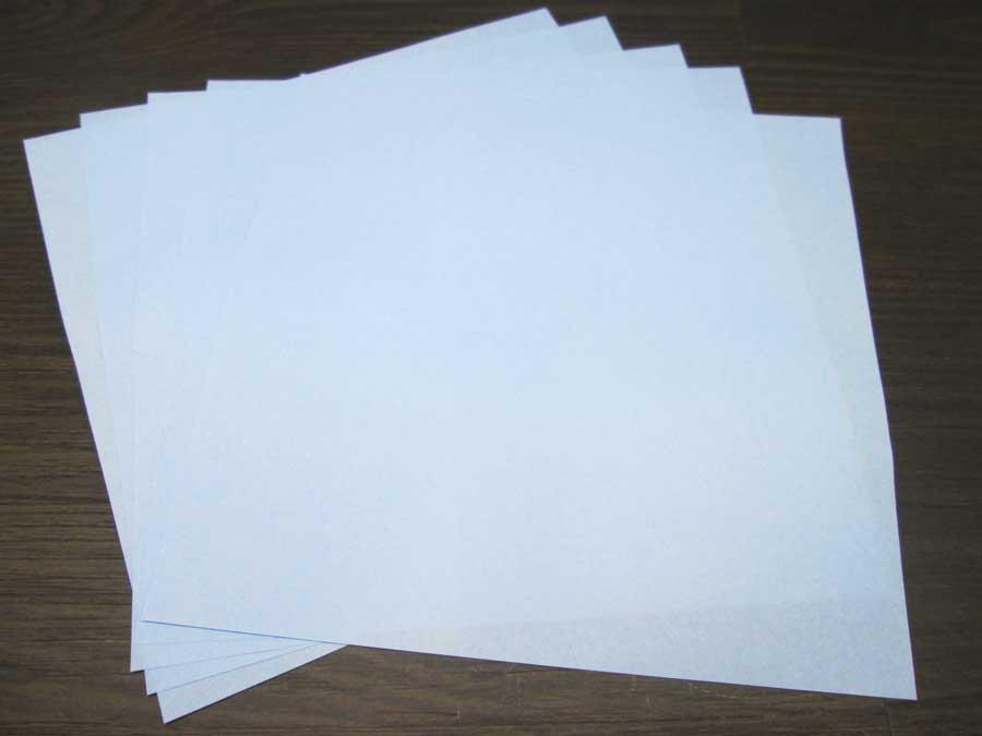 恐竜折り紙 折り紙 水色
