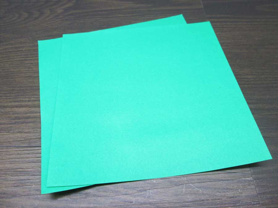 恐竜折り紙 折り紙 緑色