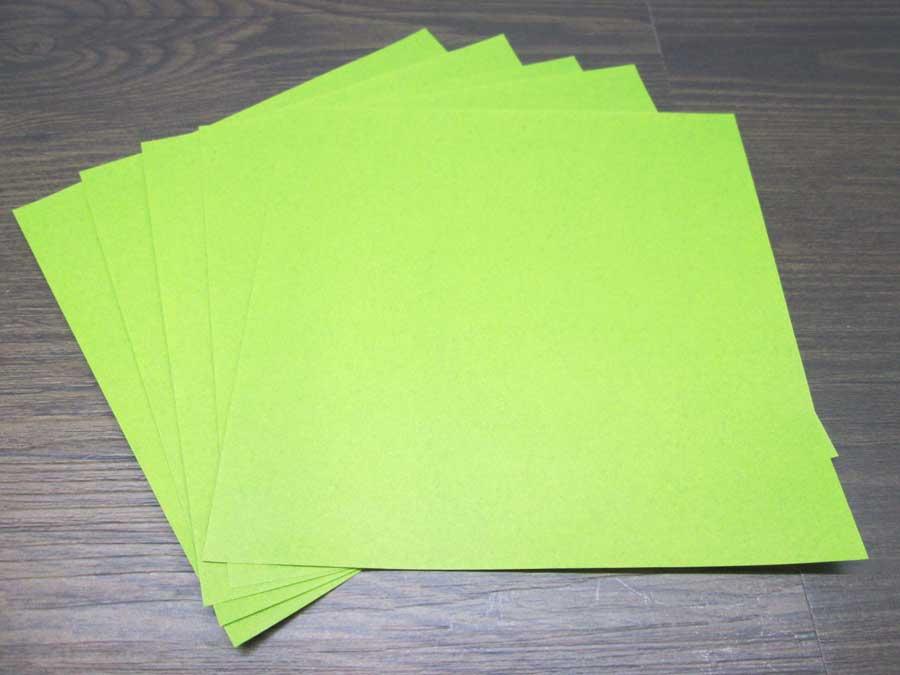 恐竜折り紙 折り紙 鶯色