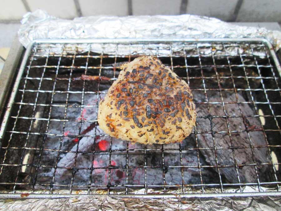 BBQ炭 焼き おにぎり2