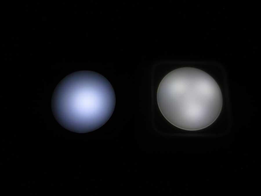 リモコンライト イルミ 調光 明るさ2