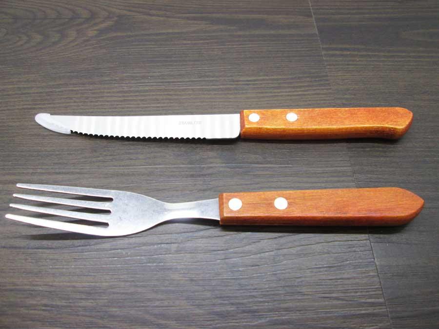ラージステーキプレート ステーキナイフ2