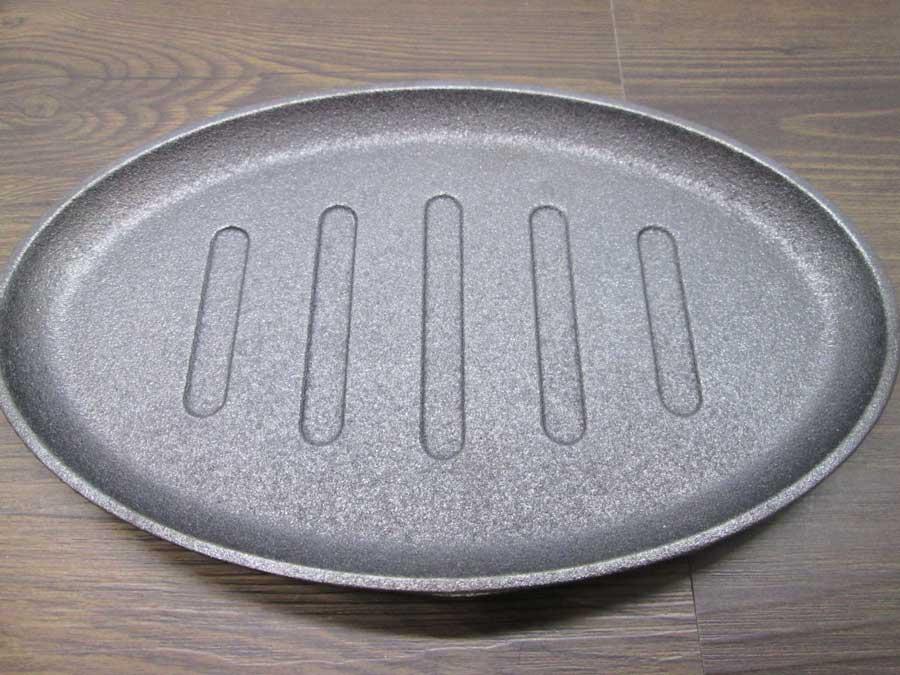 ラージステーキプレート 表面