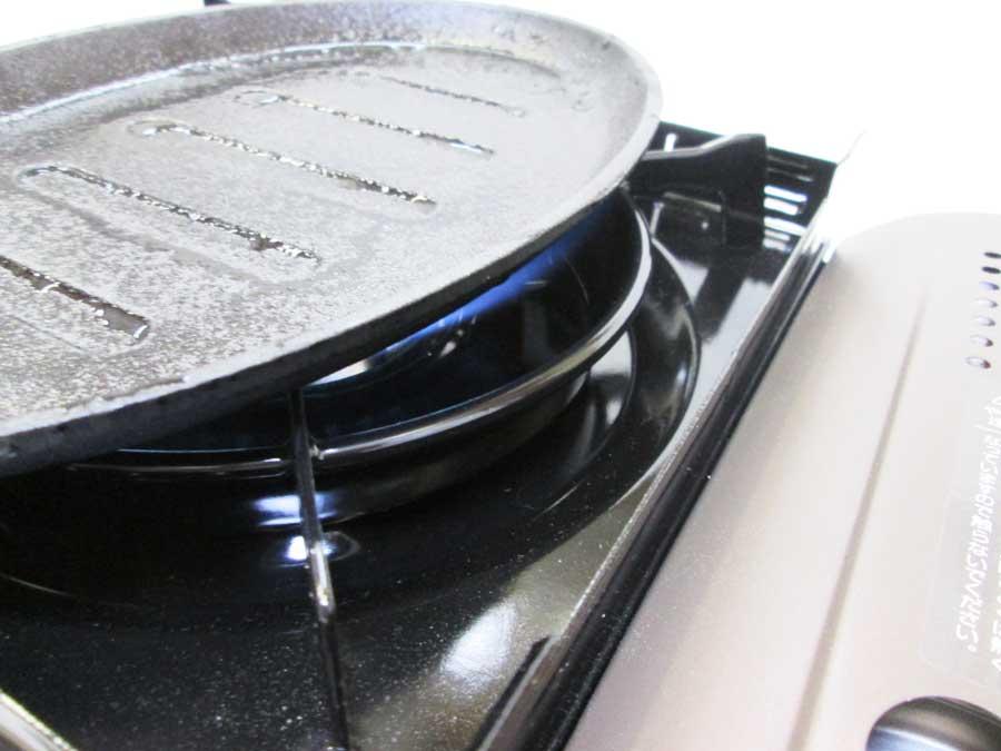 ラージステーキプレート シーズニング2