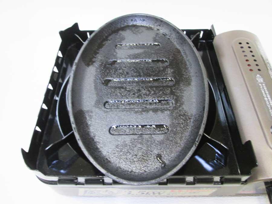ラージステーキプレート シーズニング3