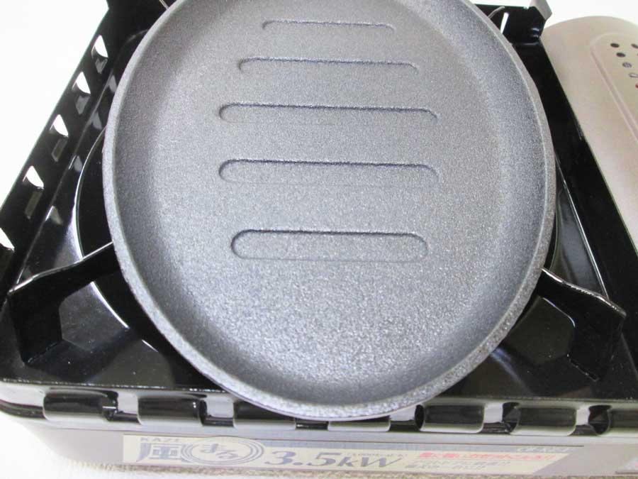 ラージステーキプレート シーズニング4