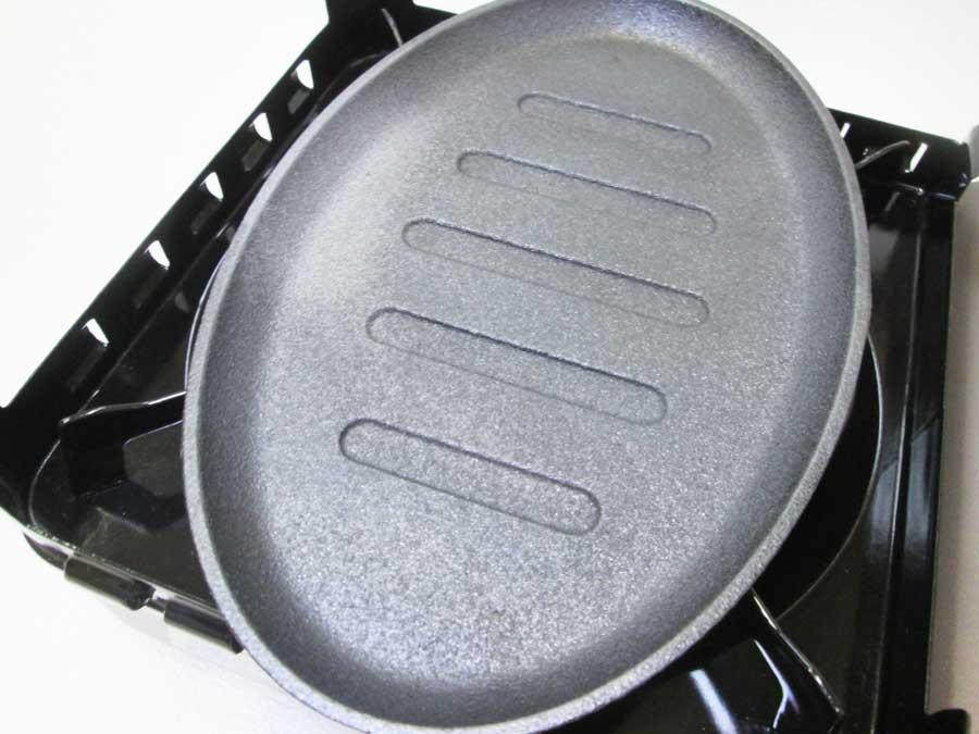 ラージステーキプレート シーズニング5