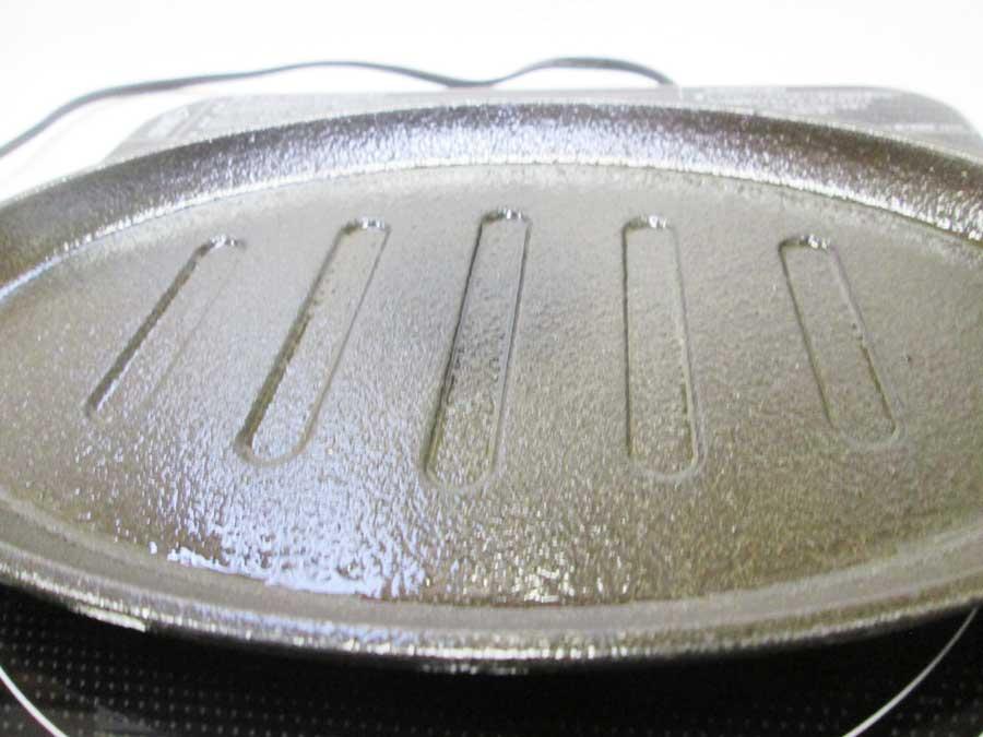 ラージステーキプレート シーズニング14