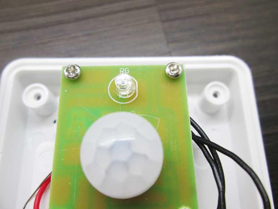 センサーライト 分解3