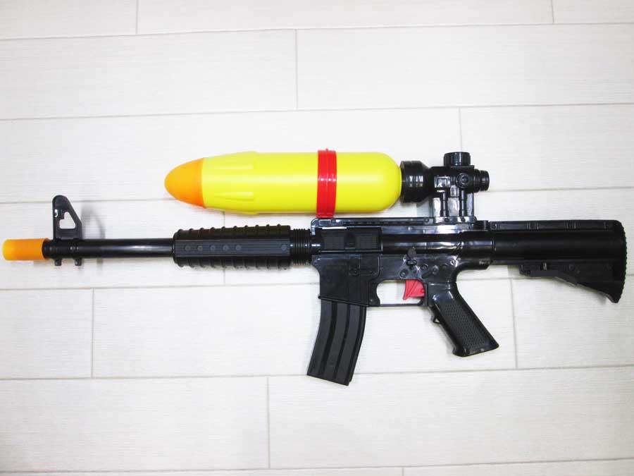 水鉄砲修理 DAISO M4
