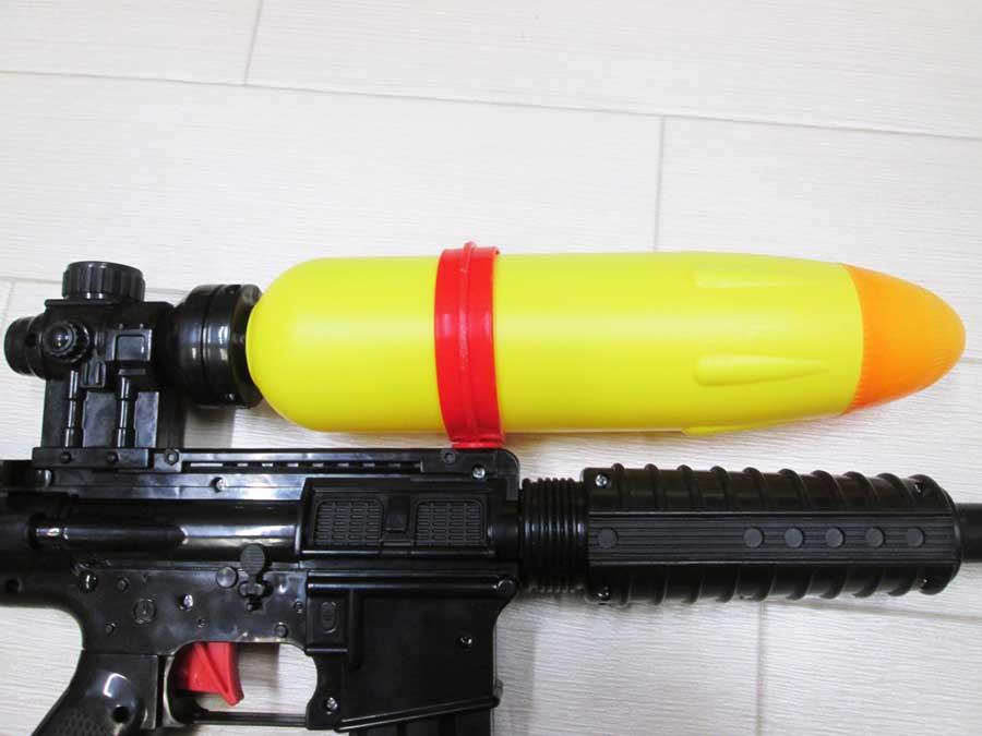 水鉄砲修理 分解2