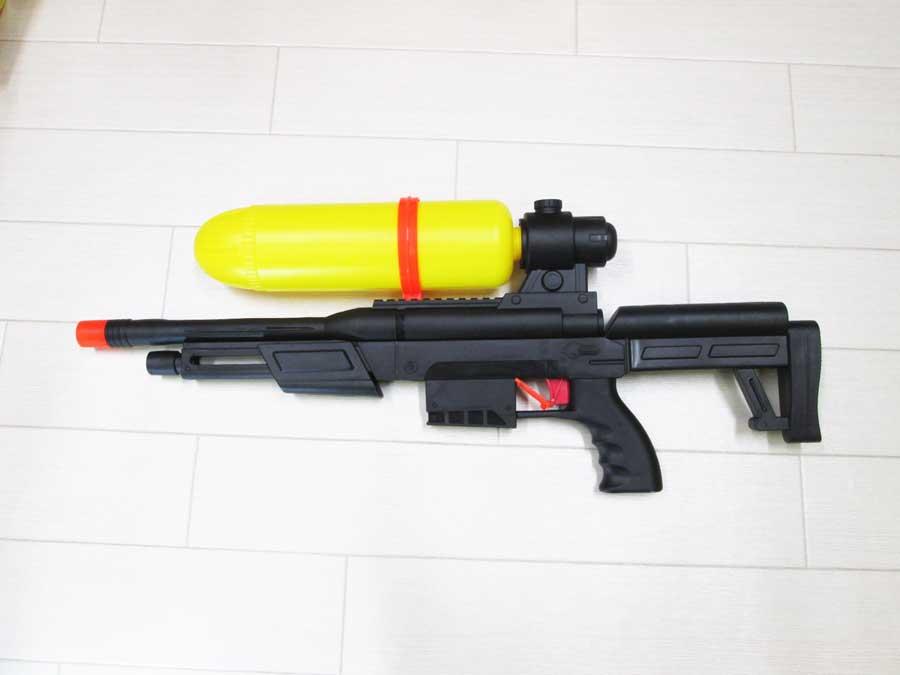 ダイソー ライフル型水鉄砲