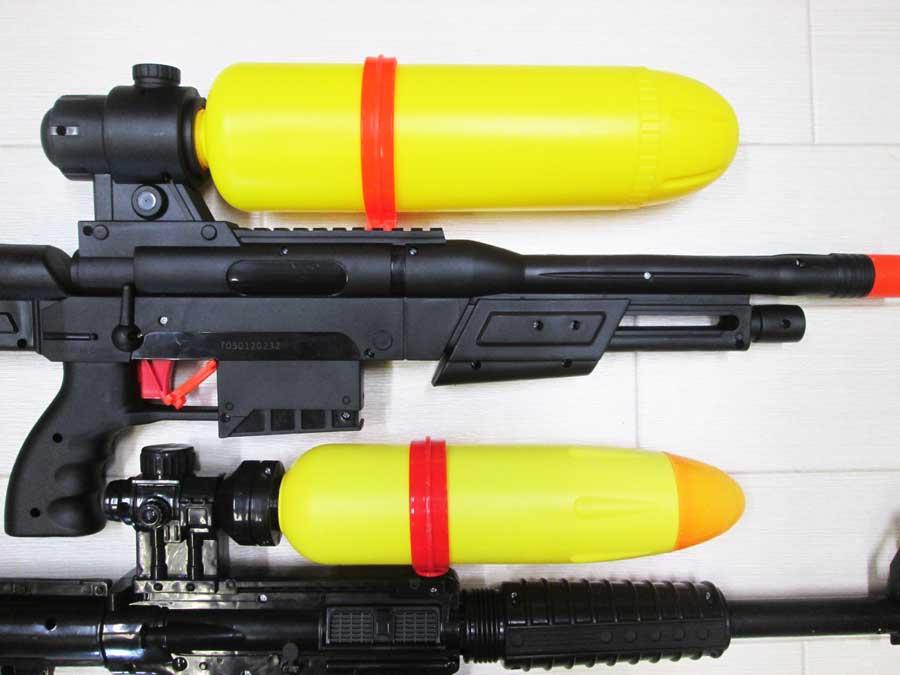 2020ライフル型水鉄砲 新旧比較2
