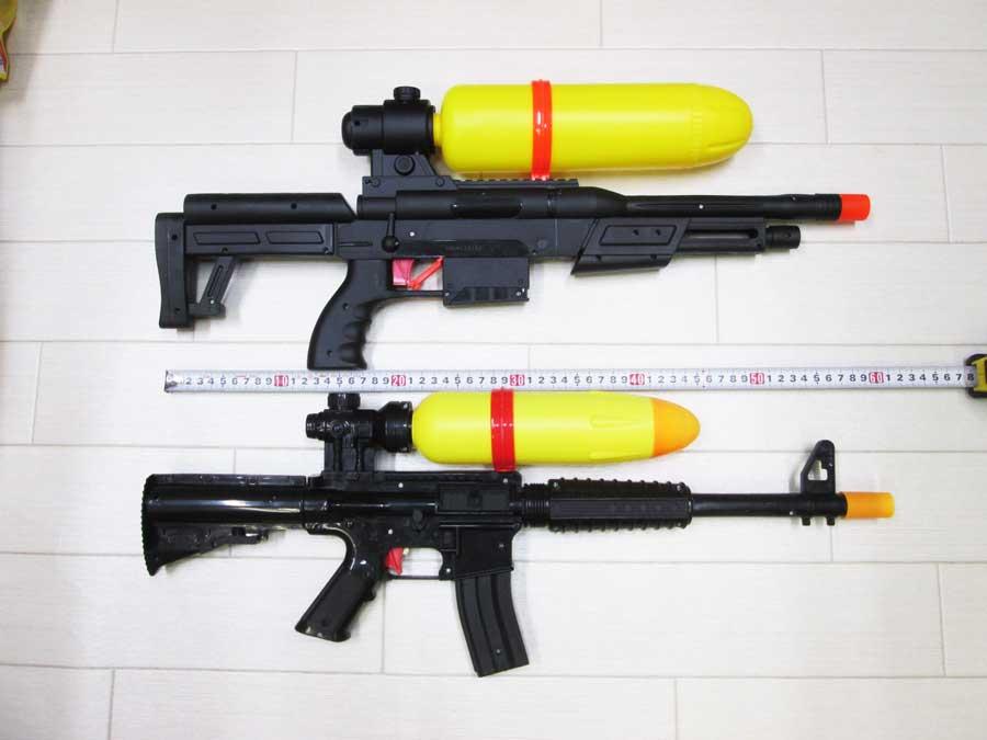2020ライフル型水鉄砲 新旧比較5