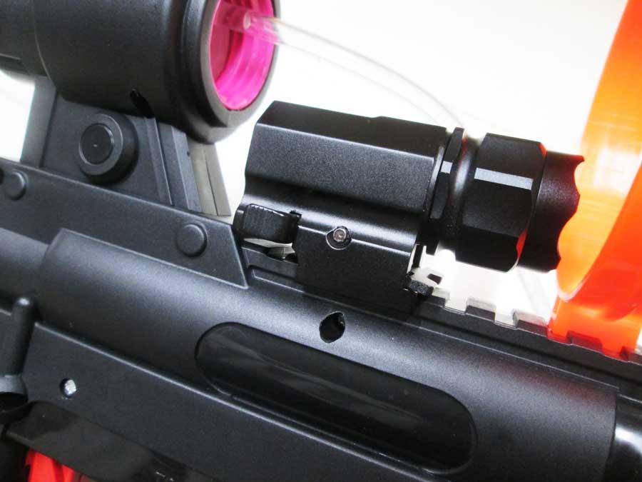 2020ライフル型水鉄砲 新旧比較9