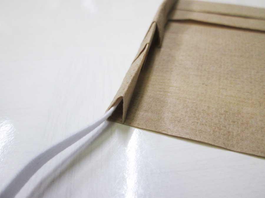 ペーパータオルマスク 折り方25