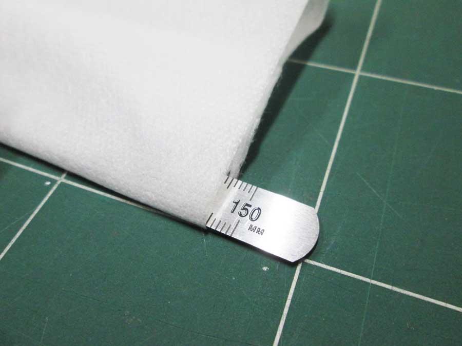 不織布マスク 作り方24