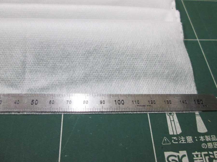不織布マスク 作り方35