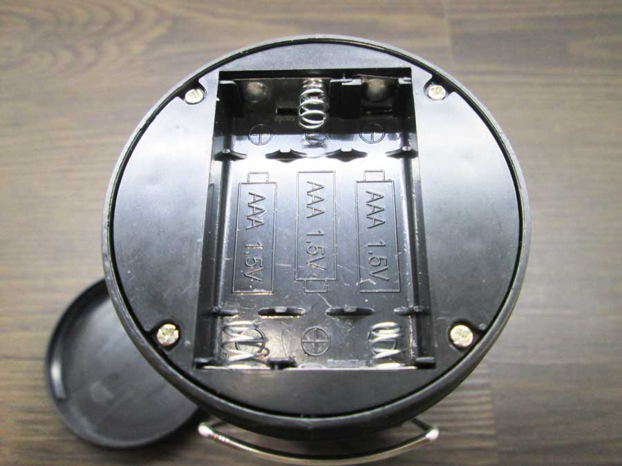 COB炎/白切替伸縮ランタン 電池入れ