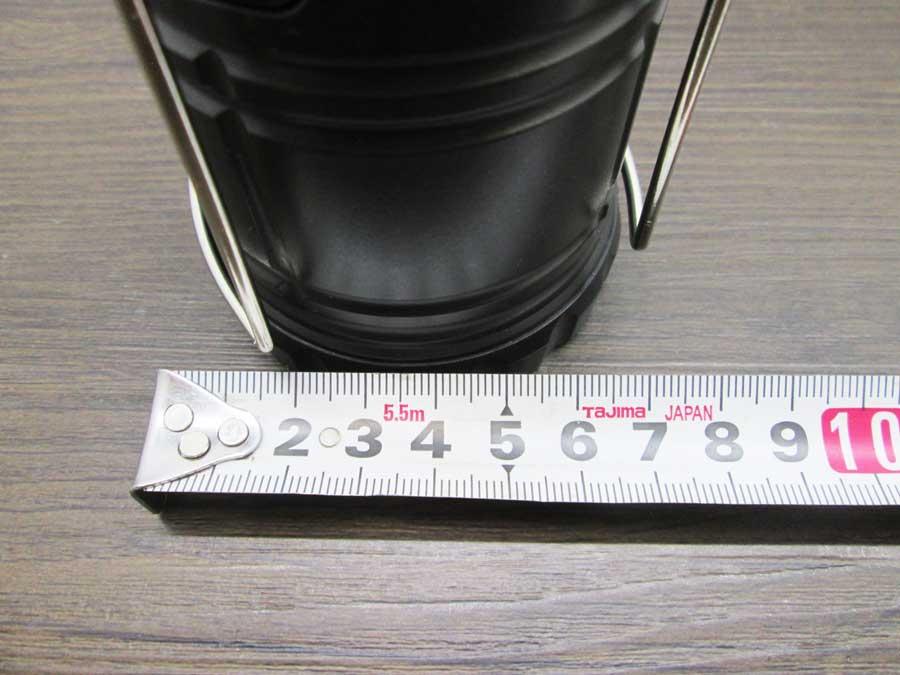 COB炎/白切替伸縮ランタン 直径