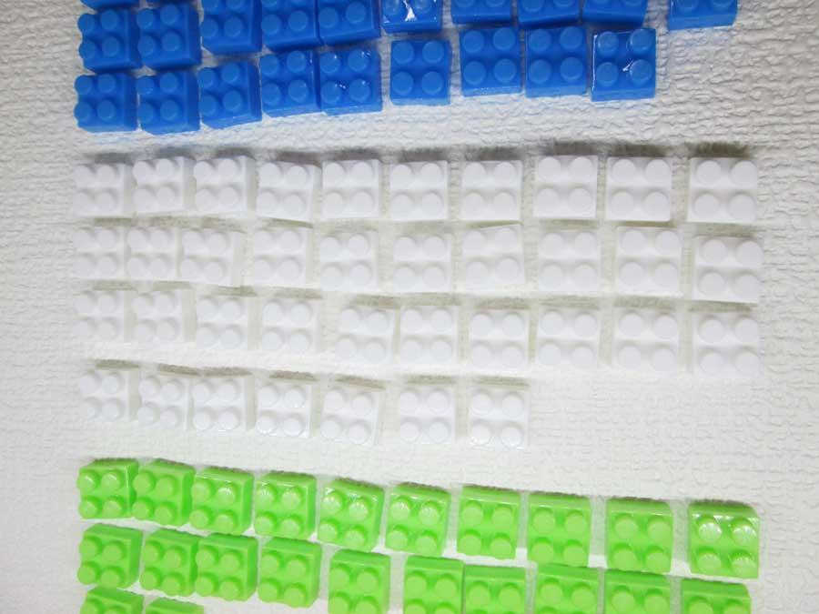 DAISO 300円 ブロック 2×2 白色