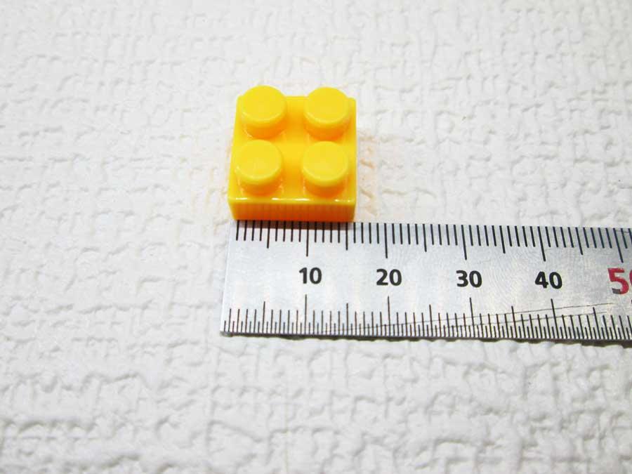 DAISO 300円 ブロック 2×2 寸法