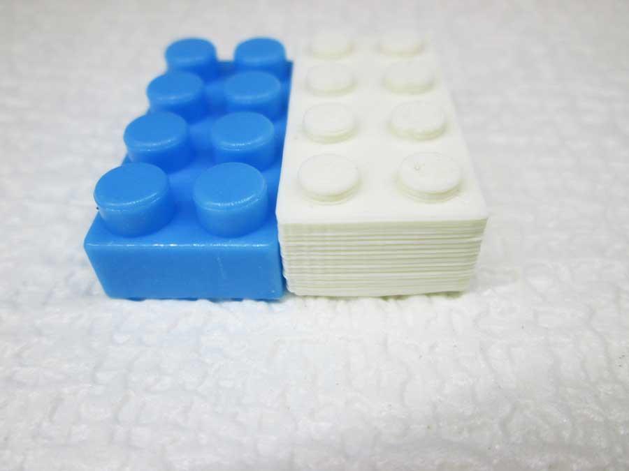 DAISO 300円 ブロック 3Dプリンタ6