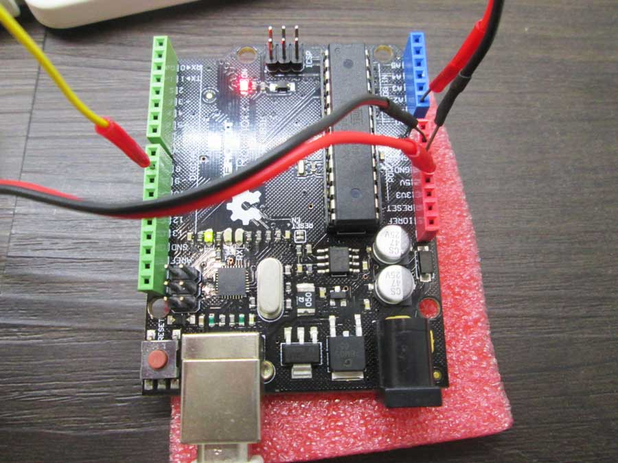 ダイソー 6SMD 伸縮ランタン 点灯実験2