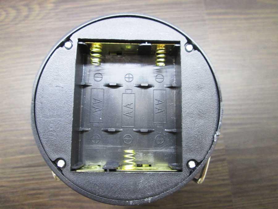 ダイソー 6SMD 伸縮ランタン 分解1