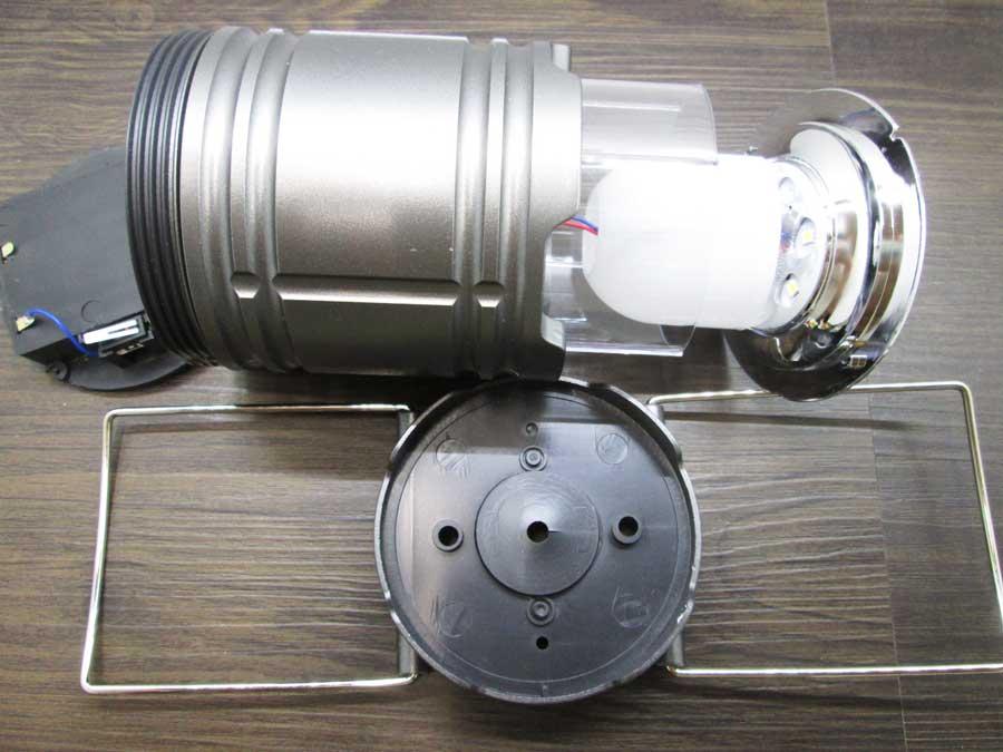 ダイソー 6SMD 伸縮ランタン 分解5