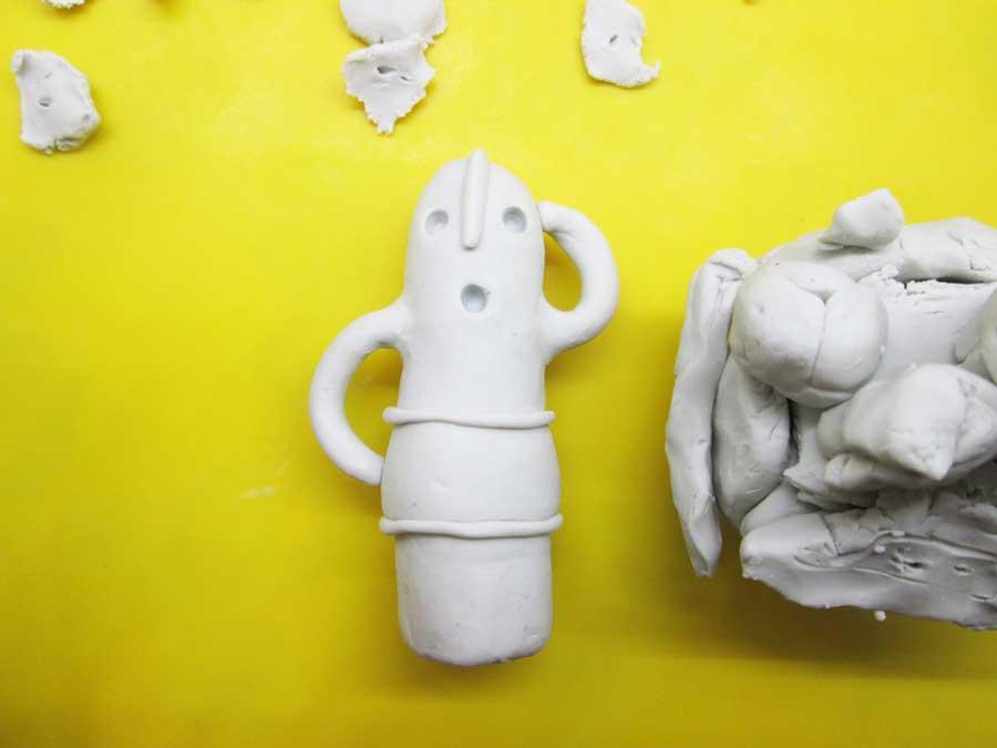 ダイソー 油粘土 作品2
