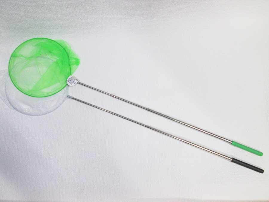 DAISO 伸縮虫とりネット シルク カラフルマルチネット4