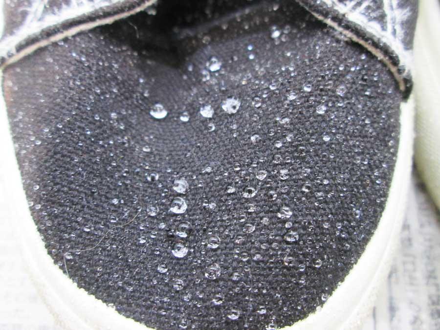 シルク ダイソー 防水スプレー 実験15