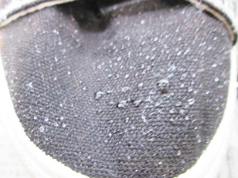 シルク ダイソー 防水スプレー 実験21
