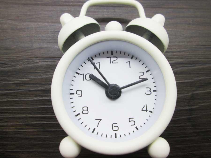 ダイソー ミニ目覚まし時計 アラーム1