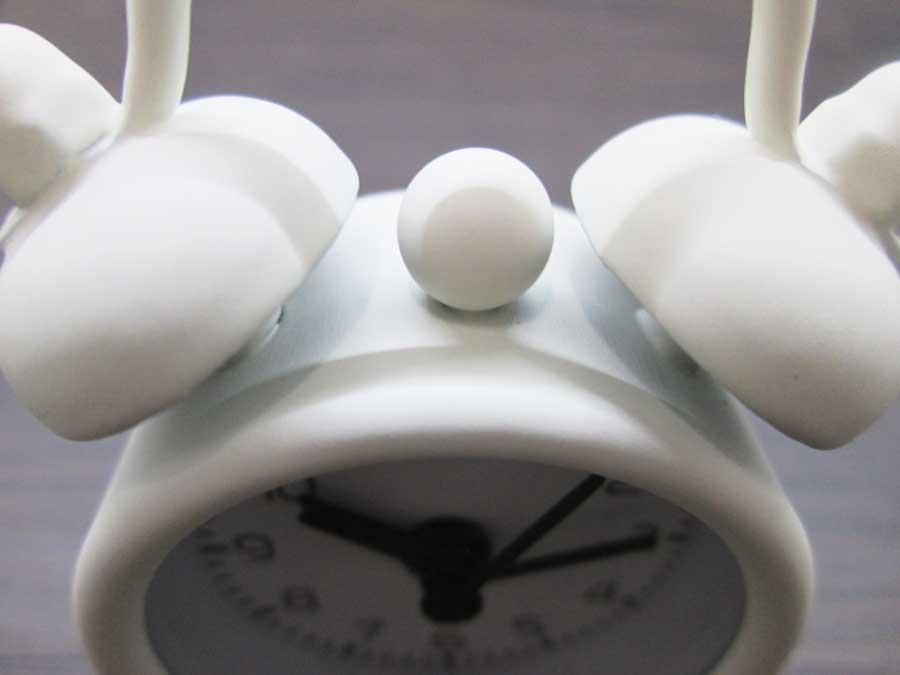 ダイソー ミニ目覚まし時計 アラーム2